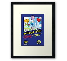 Adventure in Balloon Fighting Framed Print