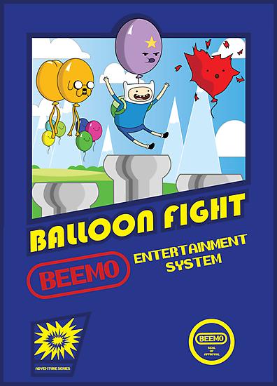 Adventure in Balloon Fighting by Scott Weston