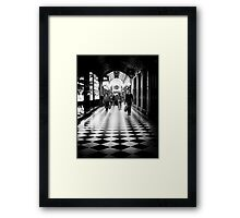 Sometimes life really is just black and white Framed Print