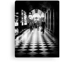 Sometimes life really is just black and white Canvas Print