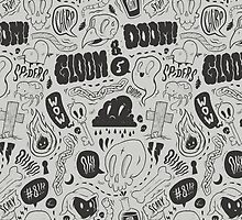 Gloom & Doom pattern by allanohr