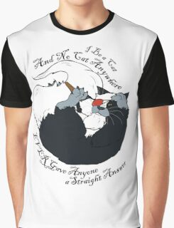 I be a Cat Graphic T-Shirt