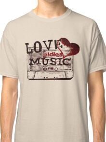 Vintage Love oldies music Classic T-Shirt