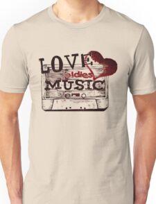 Vintage Love oldies music Unisex T-Shirt