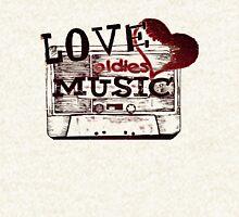 Vintage Love oldies music Hoodie