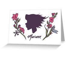 Tough Girl Greeting Card