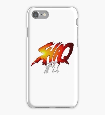 Shaq Fu - SNES Title Screen iPhone Case/Skin