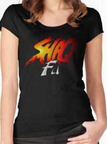 Shaq Fu Women's Fitted Scoop T-Shirt