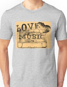 Vintage Love oldies music #2 Unisex T-Shirt