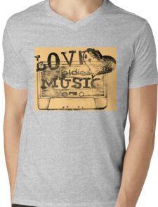 Vintage Love oldies music #2 Mens V-Neck T-Shirt