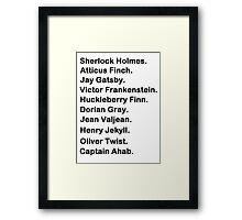 Classic Framed Print