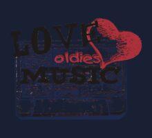 Vintage Love oldies music #3 Baby Tee