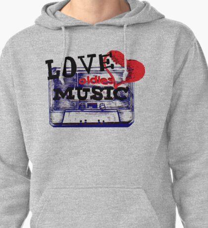 Vintage Love oldies music #3 Pullover Hoodie