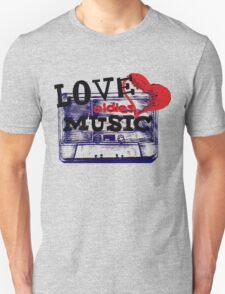 Vintage Love oldies music #3 Unisex T-Shirt