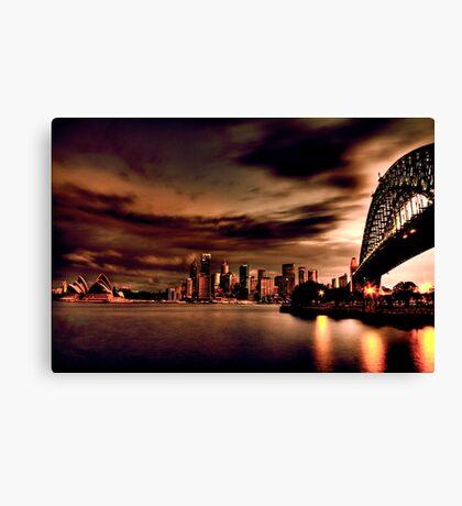 Harbour Bridge HDR Variation Canvas Print