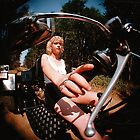 Fish Eye view of my trike by Paul  Green