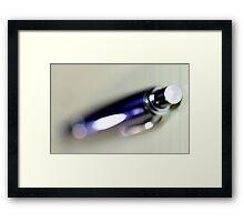 Pen Framed Print