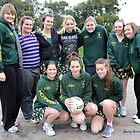 Tallangatta netball team 2012 by Jenny Enever