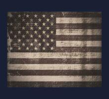 Vintage American Flag One Piece - Short Sleeve