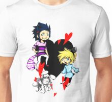 Cloud in wonderland - all characters Unisex T-Shirt