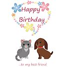 Happy Birthday best friend by Dawnsky2