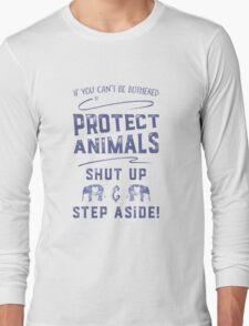 Protect Animals Long Sleeve T-Shirt