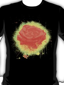 Vintage Red Rose Fine Art Tshirt T-Shirt