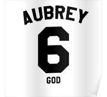 "Drake Jersey ""Aubrey"" Poster"