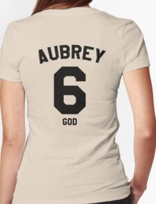 "Drake Jersey ""Aubrey"" Womens Fitted T-Shirt"