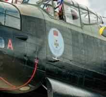 "Avro Lancaster B.X FM213/C-GVRA ""Vera"" nose detail Sticker"