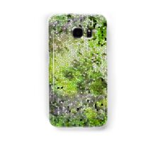 Stained Glass Effect (green) Samsung Galaxy Case/Skin
