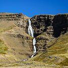 Waterfall in Hellnagil by Ólafur Már Sigurðsson