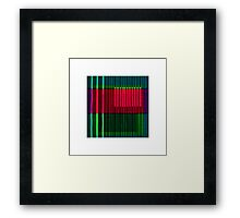 Saturday Mix Framed Print