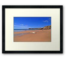 Praia da mareta Framed Print