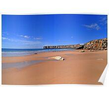 Praia da mareta Poster