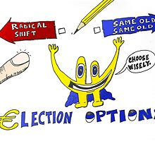 Binary Options News Cartoon Euroman and the Greek Elections by Binary-Options