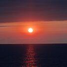 Red Sunset - Puesta del Sol en Rojo by PtoVallartaMex