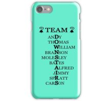 Team Downstairs (Boys) iPhone Case/Skin