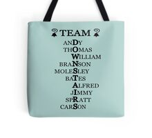 Team Downstairs (Boys) Tote Bag