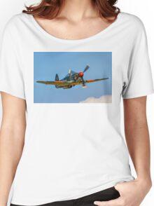 Yakovlev Yak-9UM yellow 06 HB-RYA Women's Relaxed Fit T-Shirt