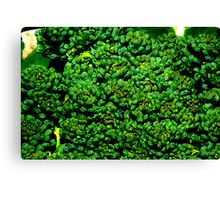 Being Broccoli Canvas Print