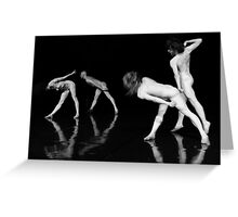 Dance Theater 2 Greeting Card
