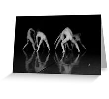 Dance Theater 5 Greeting Card