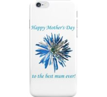 Mums for Mother iPhone Case/Skin