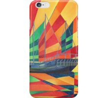 Sail Away Junk Pleasure Boat iPhone Case/Skin