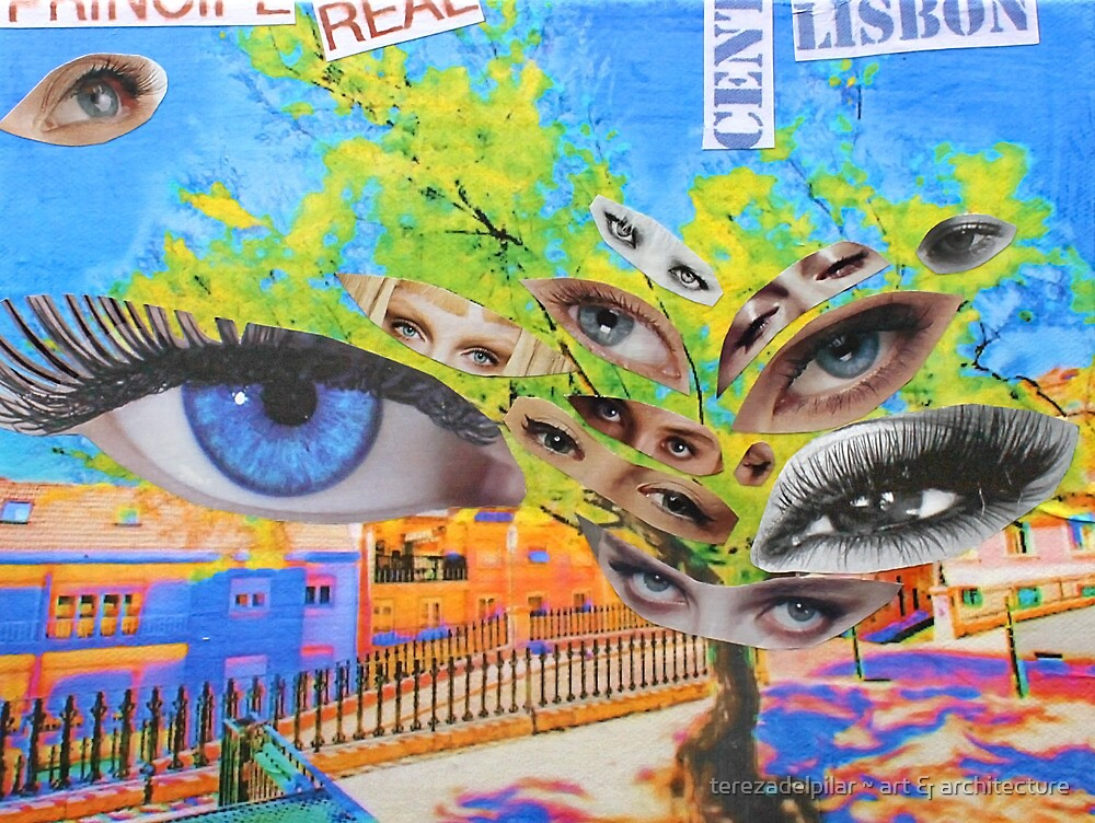 Prince's eyes. Príncipe Real. Lisboa by terezadelpilar~ art & architecture