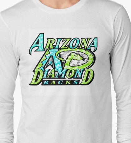 DIAMONDBACKS WHITE Long Sleeve T-Shirt