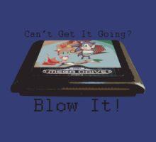 Sonic The Hedgehog T-Shirt - Blow It by PaulRoberts
