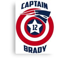 Captain Brady Canvas Print