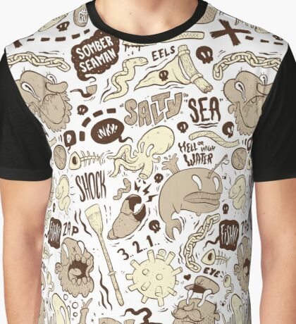 Salty Sea Graphic T-Shirt